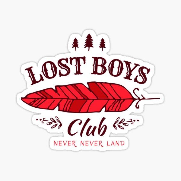 Lost Boys Club // Peter Pan Sticker