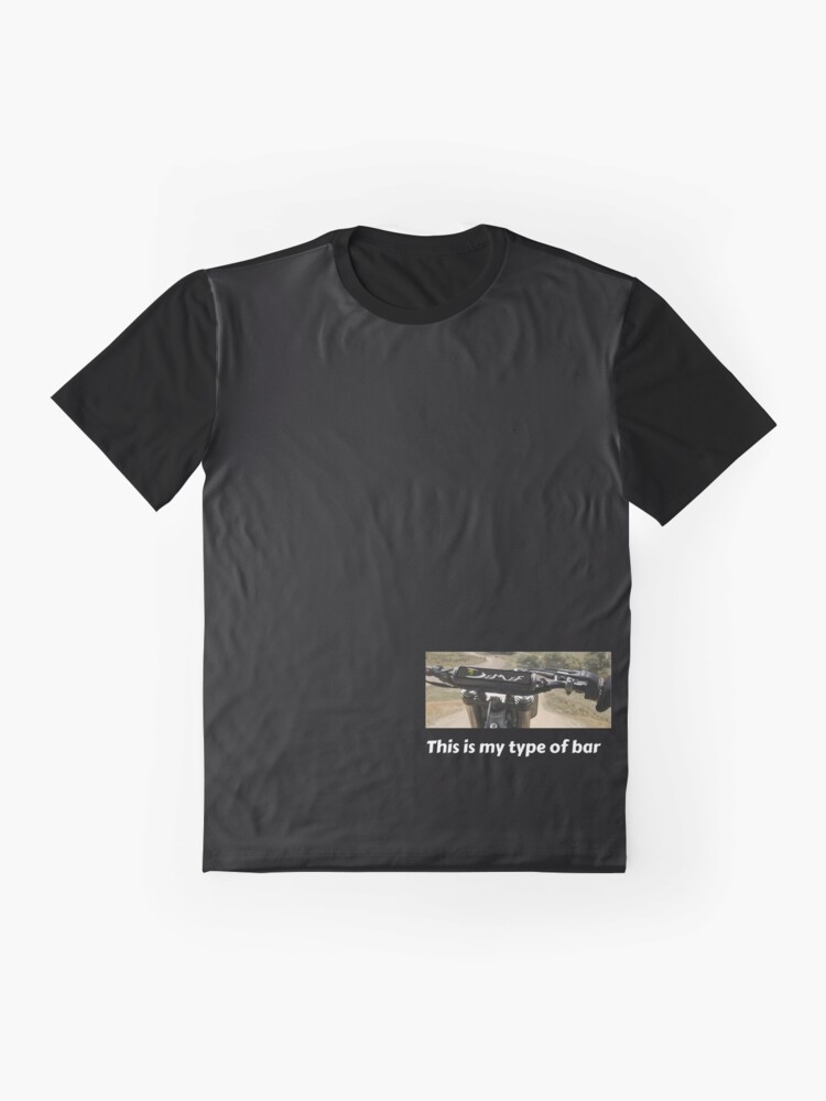 Alternate view of this is my type of bar Graphic T-Shirt
