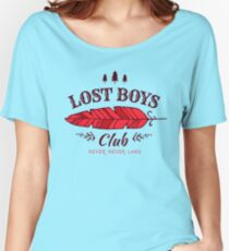 Lost Boys Club // Peter Pan Women's Relaxed Fit T-Shirt