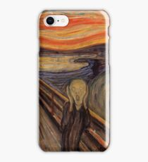 Edvard Munch - The Scream  iPhone Case/Skin