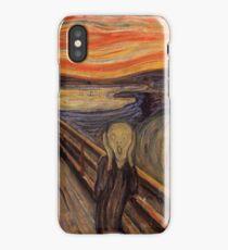 Edvard Munch - The Scream  iPhone Case/Skin