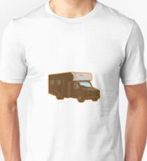 Campervan Motorhome Retro Unisex T-Shirt