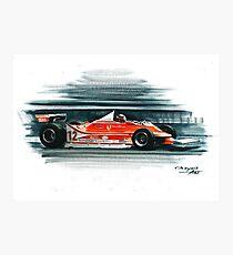 1979  Ferrari 312T4 Photographic Print