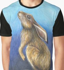 Moonstruck Hare Graphic T-Shirt