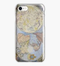 Map of Heaven and Earth 1699 iPhone Case/Skin