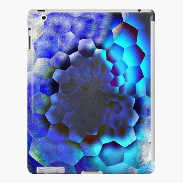 Blue abstract geometric art  iPad Snap Case
