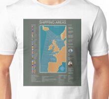 Shipping Forecast of British Unisex T-Shirt