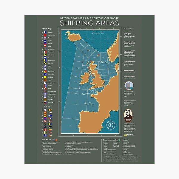 Shipping Forecast of British Photographic Print
