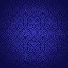 Blue Vintage Victorian by graciestlou
