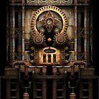 Infernal Steampunk Vintage Machine #3 by Steve Crompton