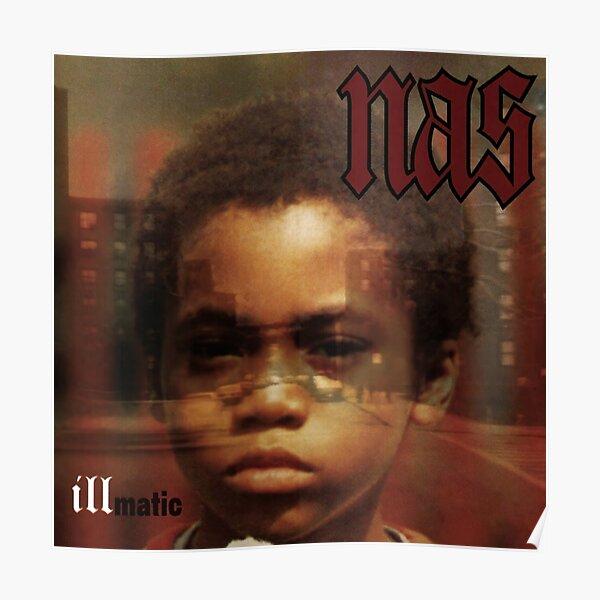 Nas - Illmatic Album Cover Art Poster
