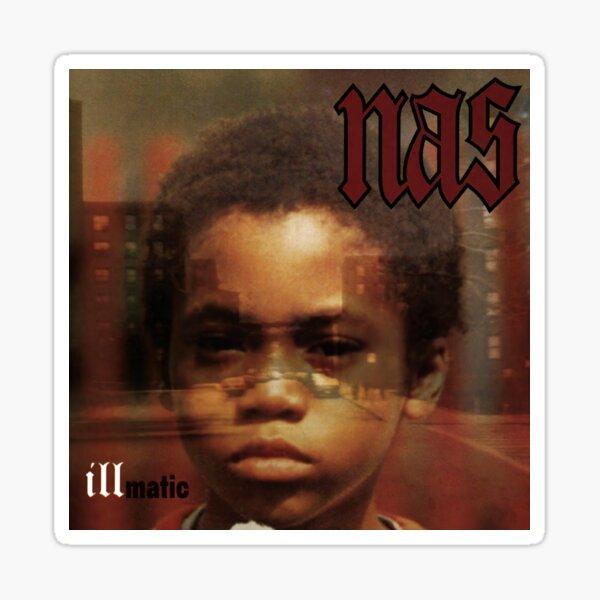 Nas - Illmatic Album Cover Art Sticker