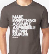 Simple Slim Fit T-Shirt