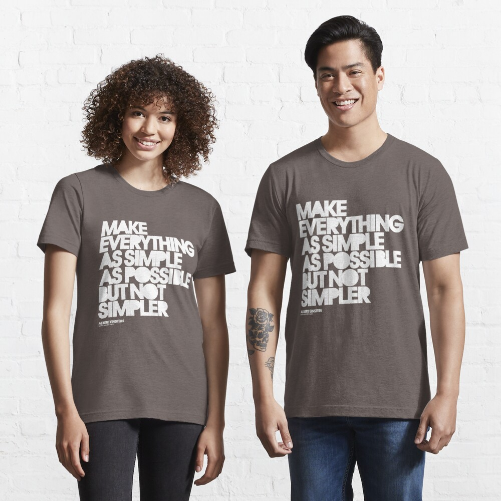 Simple Essential T-Shirt