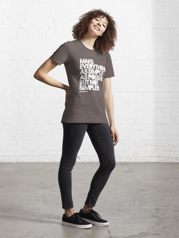 Alternate view of Simple Essential T-Shirt