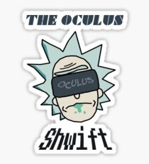 Rick And Morty - Oculus Shwift Sticker