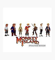 Monkey Island Guybrush - Evolution Edition Photographic Print