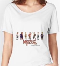 Monkey Island Guybrush - Puberty Edition  Women's Relaxed Fit T-Shirt