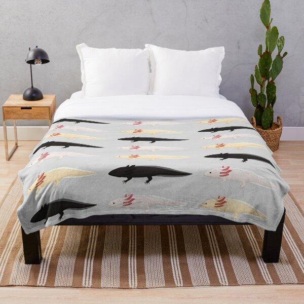 Axolotls! Throw Blanket