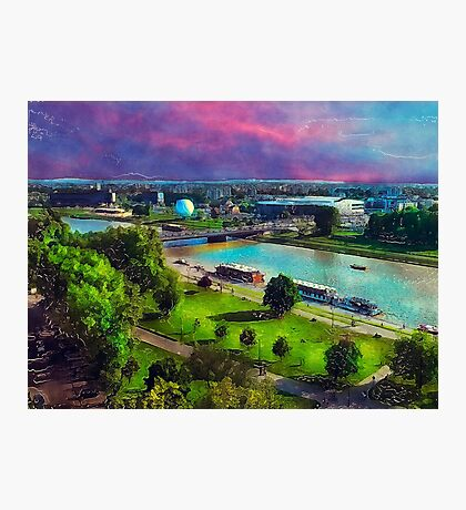 Krakow panorame Photographic Print