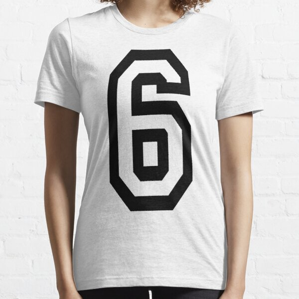 NUMBER 6. TEAM. SPORTS. SIX. SIXTH. 6th. Competition. Essential T-Shirt