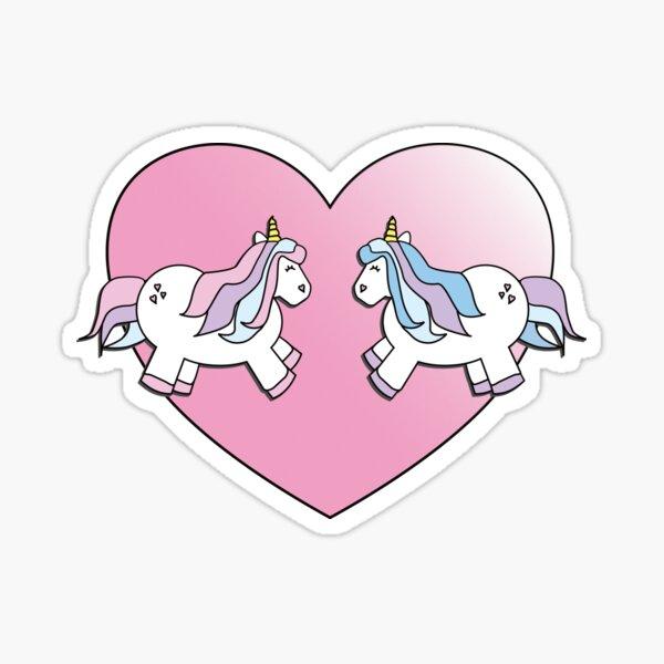 Unicorns in Love  Sticker