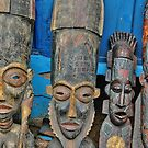 Masks of Africa by Remo Kurka