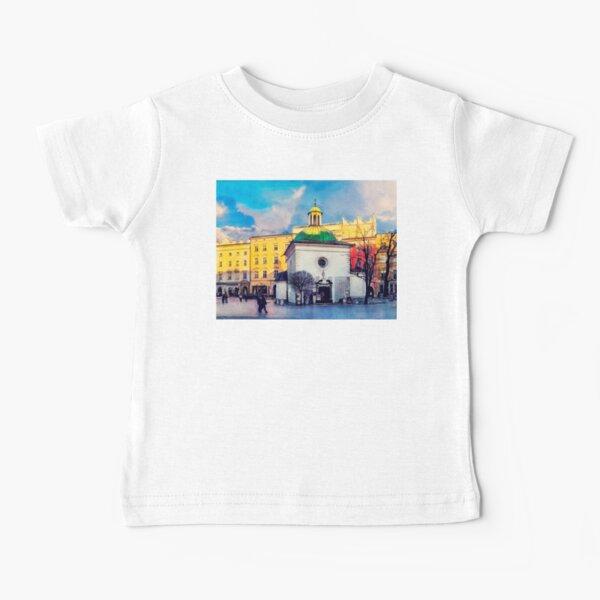 Cracow Church of St. Wojciech Baby T-Shirt