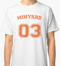 828ddd162d6 andrew minyard #3 goalkeeper Classic T-Shirt