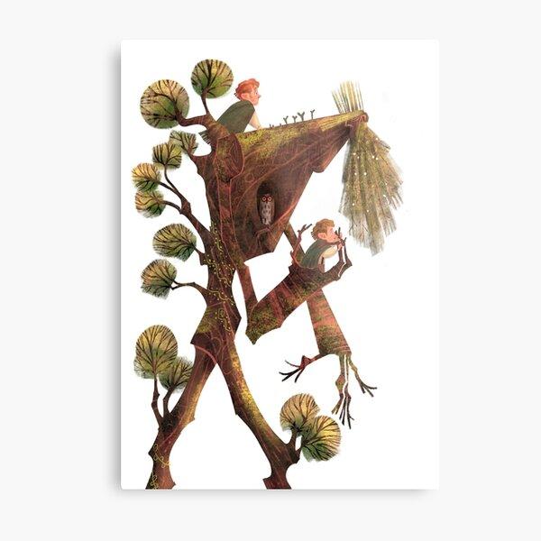 Treebeard Metal Print
