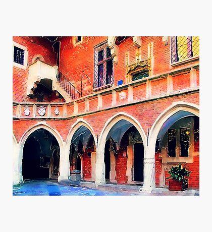 Cracow Collegium Maius Photographic Print