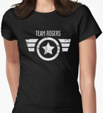 Team Rogers - Civil War Womens Fitted T-Shirt