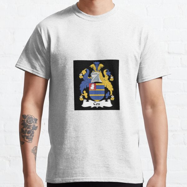 Team Cox Surname Mens T-Shirt Custom Gift Name Family College Any Year Cool