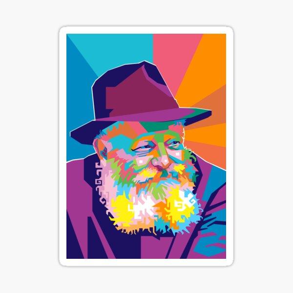 Menachem Mendel Schneerson Sticker