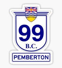 BC 99 - Pemberton Sticker