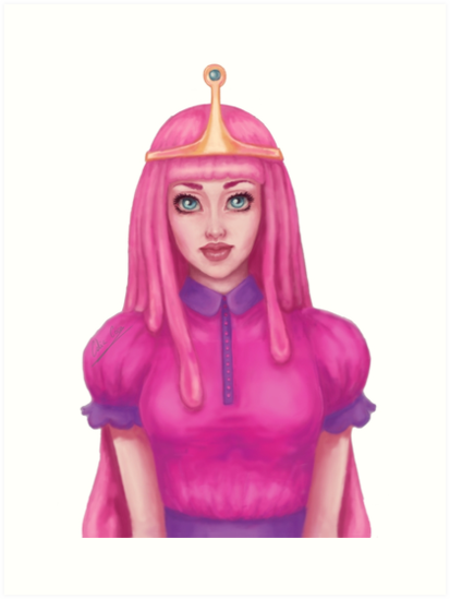 Princess Bubblegum By Celia Coca