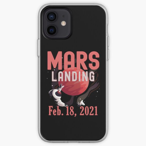 Mars Landing Day Space Exploration Mission Perseverance iPhone Soft Case