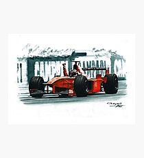 1998 Ferrari F300 Photographic Print