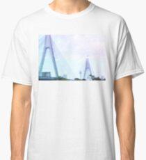 Sydney Anzac Bridge Vaporwave Landscape Classic T-Shirt