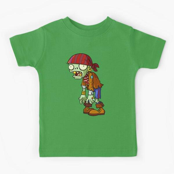 Plants Zombie Pirate face design I Plants vs zombies Kids T-Shirt