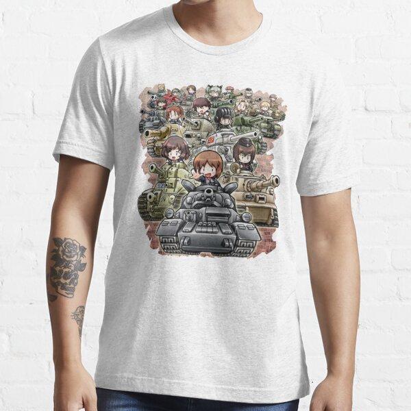 Girls Und Panzer - Chibi Essential T-Shirt