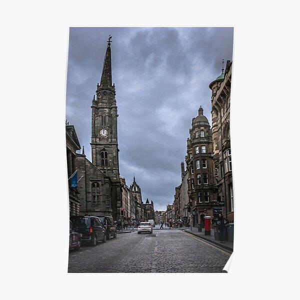 Royal Mile, Edinburgh, Scotland Poster