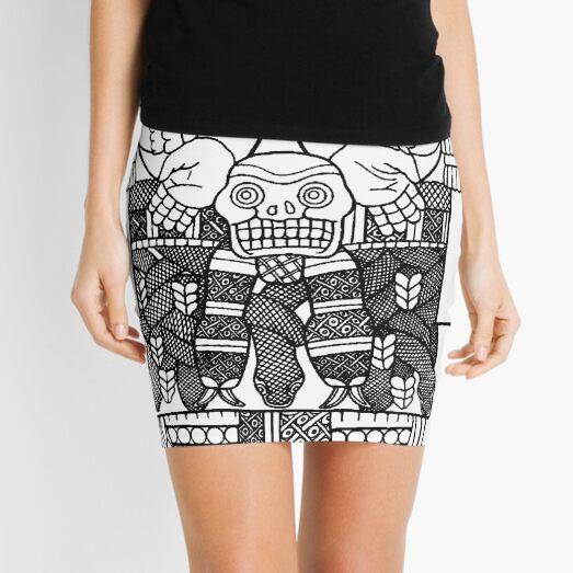 Coatlicue - Mother Of The Gods Mini Skirt