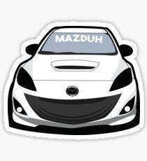 Mazduhhh Sticker