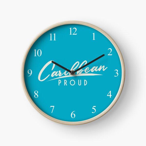 'Caribbean Proud' Clock by tw2us