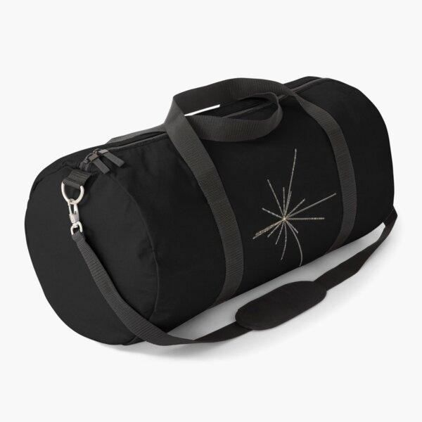 Space Exploration Pulsar Map Voyager Duffle Bag