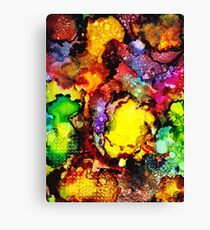 Melted Crayons Canvas Print