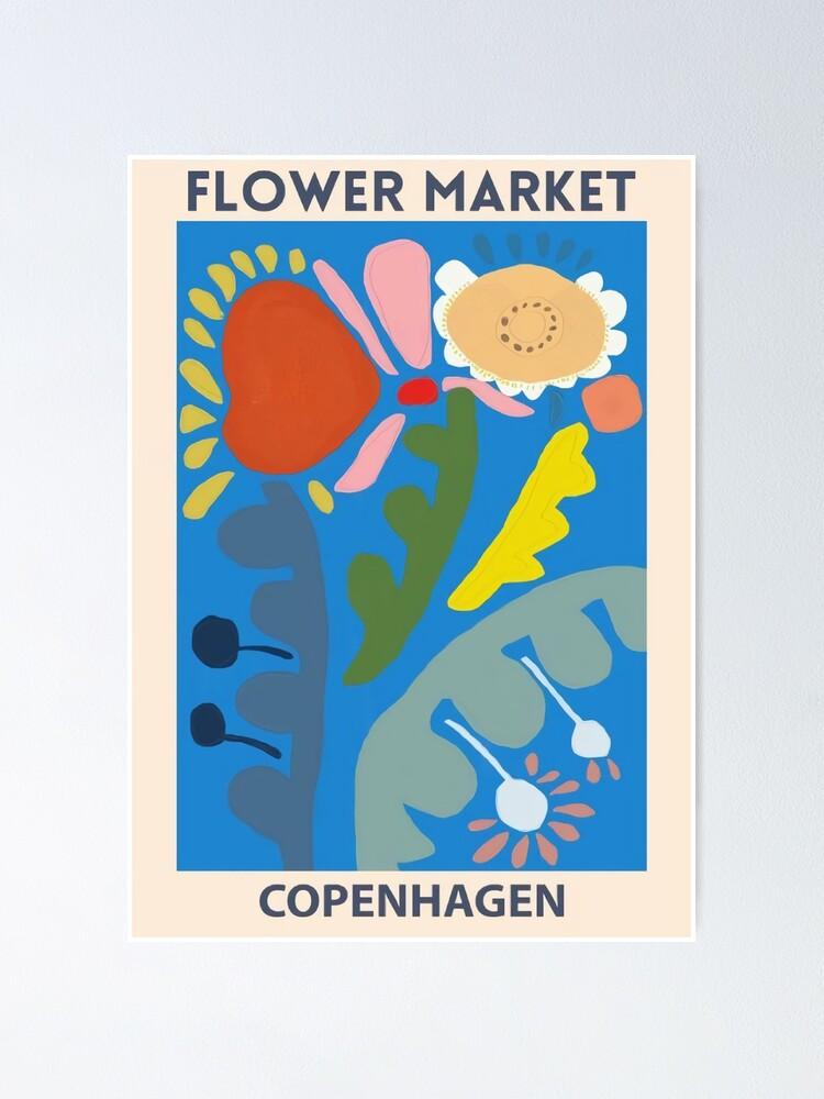 Vista alternativa de Póster Mercado de las flores - Copenhague