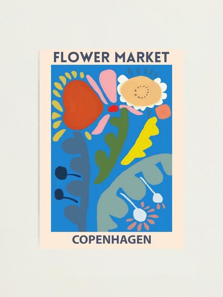 Alternate view of Flower Market - Copenhagen Photographic Print