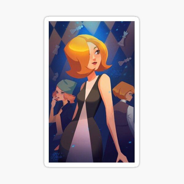 Beth Harmon - Queen's Gambit Sticker